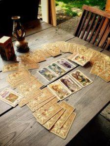 tarotun baslangiclari bitisleri anlatan kartlari